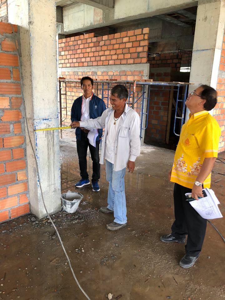 ตรวจรับงานจ้างเหมาทำการก่อสร้างอาคารสำนักงานแขวงทางหลวง คสล. 3 ชั้น แขวงทางหลวงพัทลุง ตามสัญญาที่ พท.20/2561